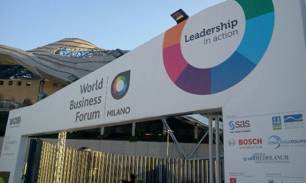 #WBFMI World Business Forum Milano