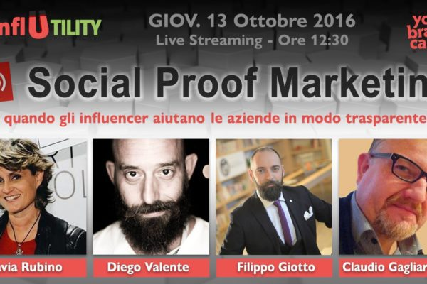 influencer marketing filippo giotto diego valente